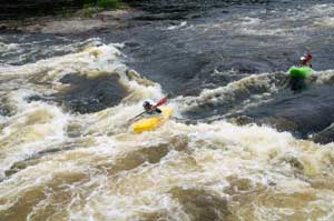 Advanced Maine Whitewater Kayaking Clinics