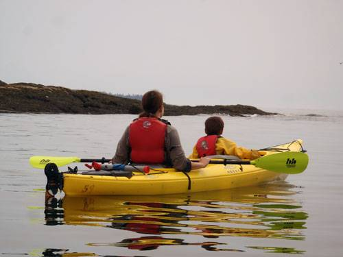Youth Sea Kayaking Day Trips