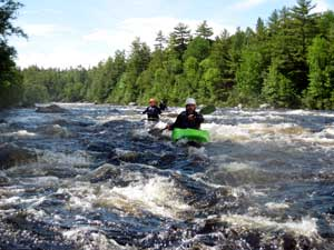 Intermediate Whitewater Kayaking Maine