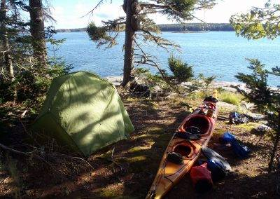 Maine Island Kayaking Overnight Trips