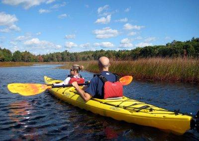 Maine Lake Kayaking Trips