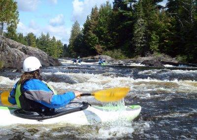 Maine White Water Kayaking Banner