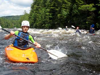 Penobscot River Maine Whitewater Kayaking Lessons