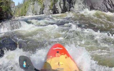 Whitewater Kayaking on the Penobscot River
