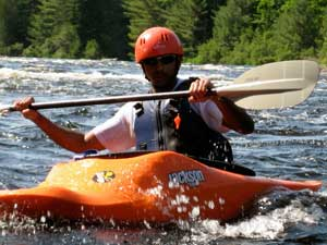 Maine Whitewater Kayaking