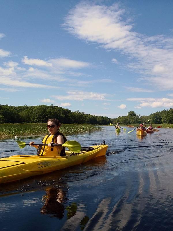 Lake Kayaking Maine