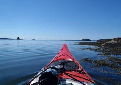 Sea Kayaking Maine