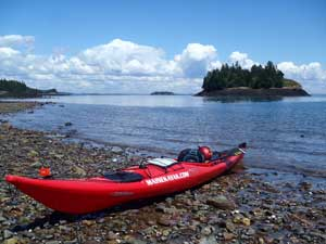 Coastal Kayaking in Johns Bay Maine