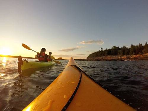 Sea Kayaking 2 Hour Sunset Trips – $49