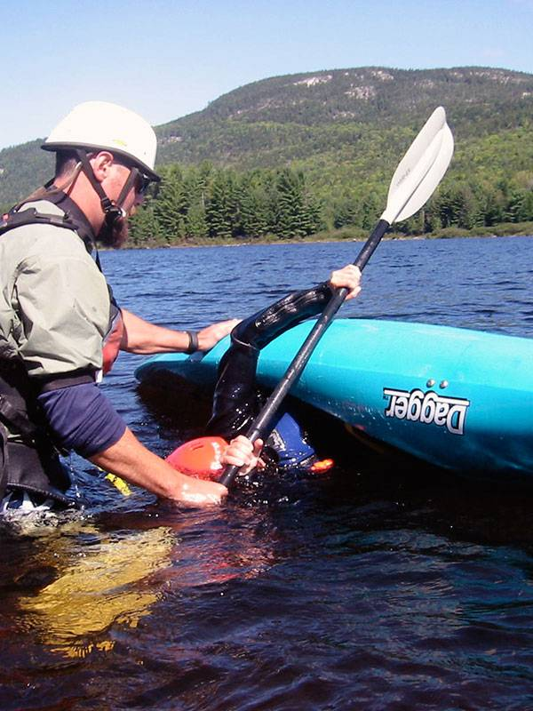 Whitewater Kayaking Roll