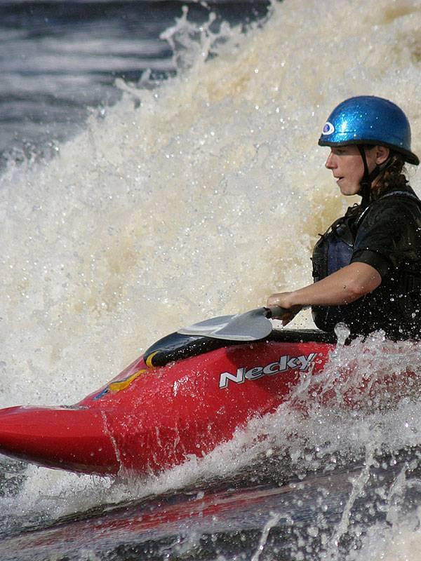 Whitewater Kayaking Courses Maine