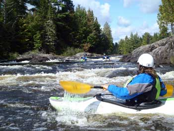 Penobscot River Whitewater Kayaking Maine