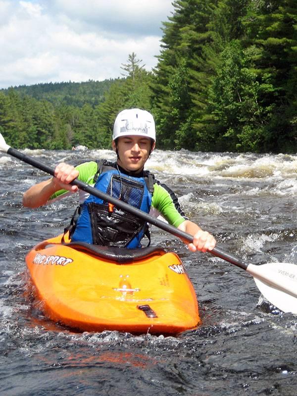 Youth Kayaking Maine